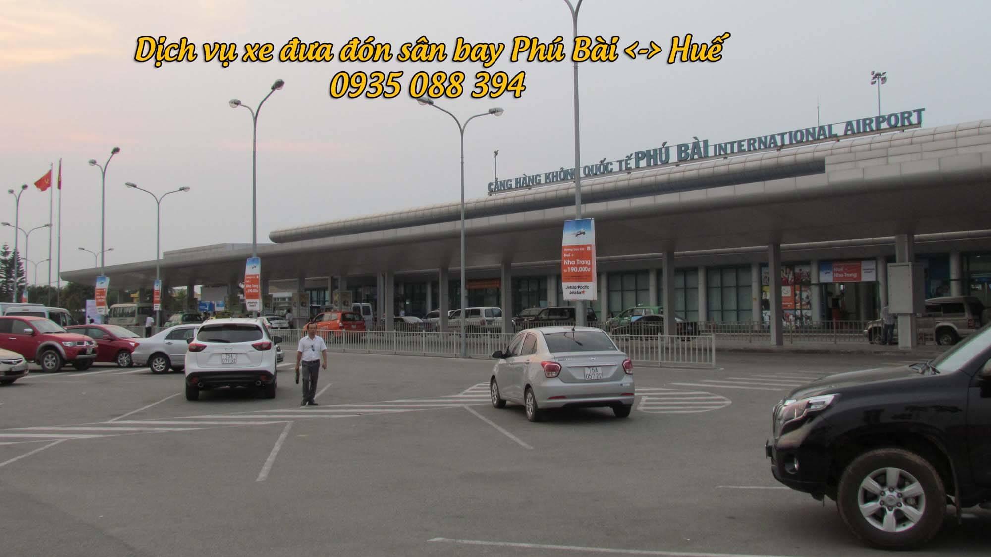 xe đưa đón sân bay Huế, xe đưa đón sân bay Phú Bài