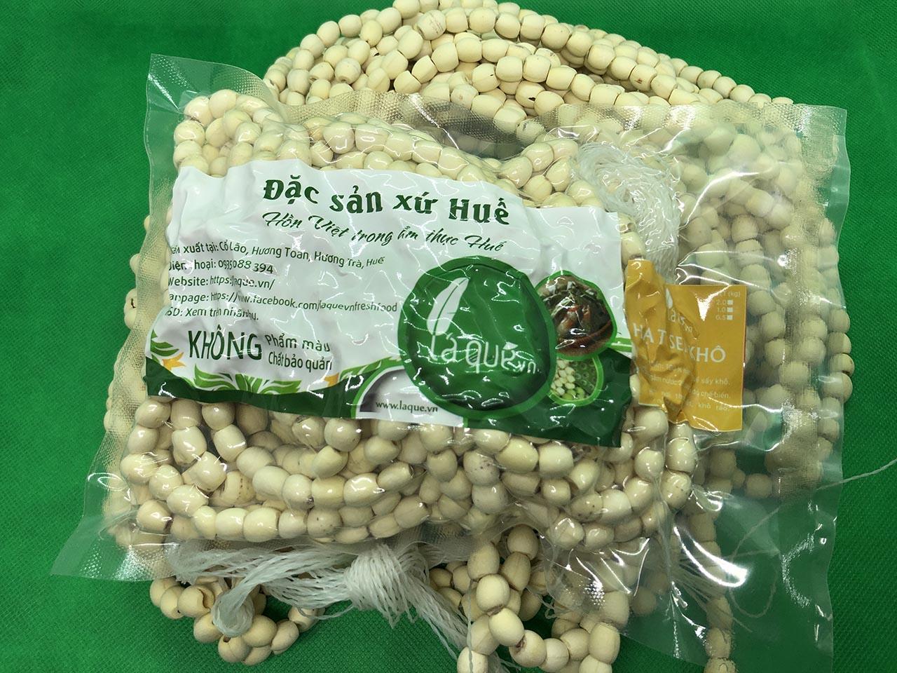 hạt sen khô huế, hạt sen khô, hạt sen huế, hạt sen huế khô, sen huế, đặc sản Huế, đặc sản huế lá quê, đặc sản hạt sen huế, hạt sen huế lá quê