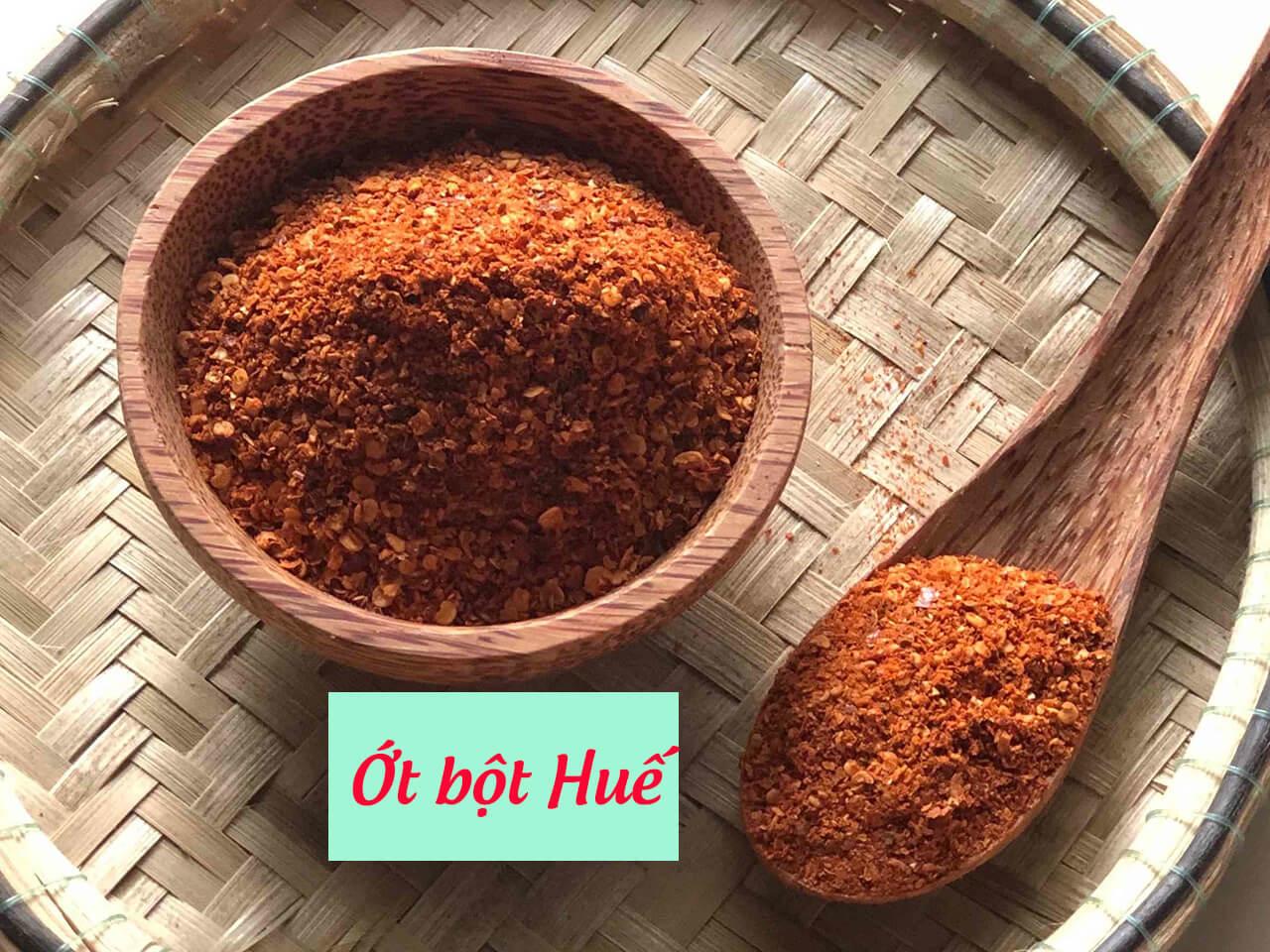 Ớt bột Huế, ớt bột